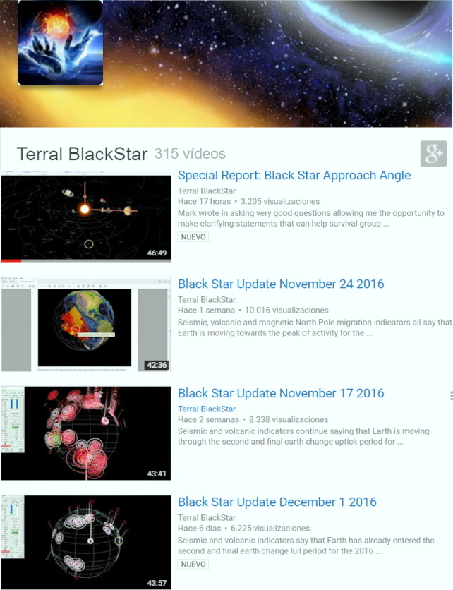 Terral BlackStar Youtube Channel